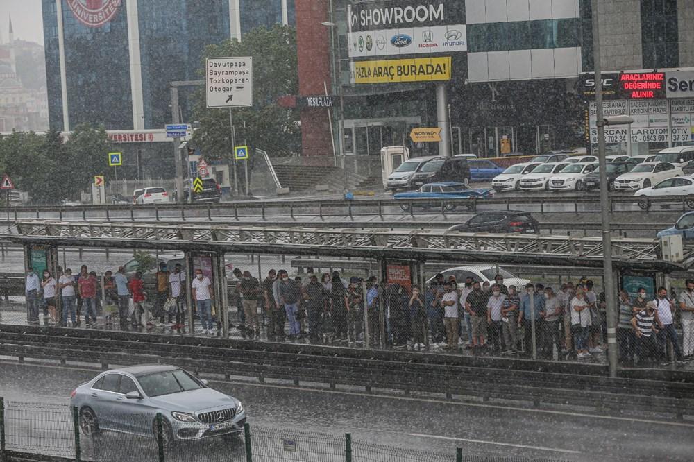 İstanbul'da şiddetli yağış ve dolu - 9