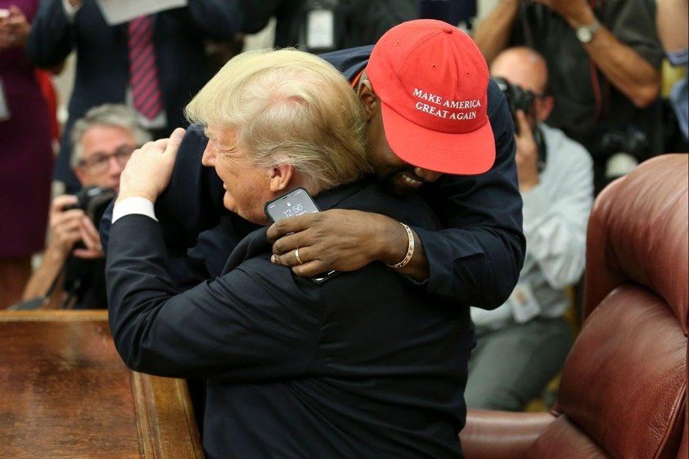 Kim Kardashian'ın eşi rap şarkıcısı Kanye West ABD Başkanlığı'na aday oldu - 13