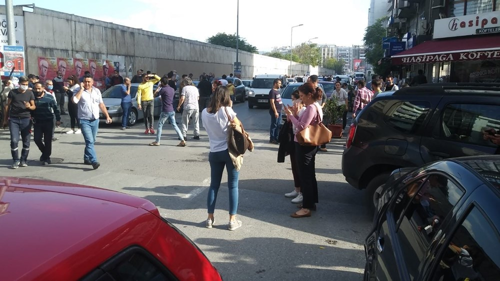 Son Dakika: İzmir'deki 6.6'lık depremden kareler - 2