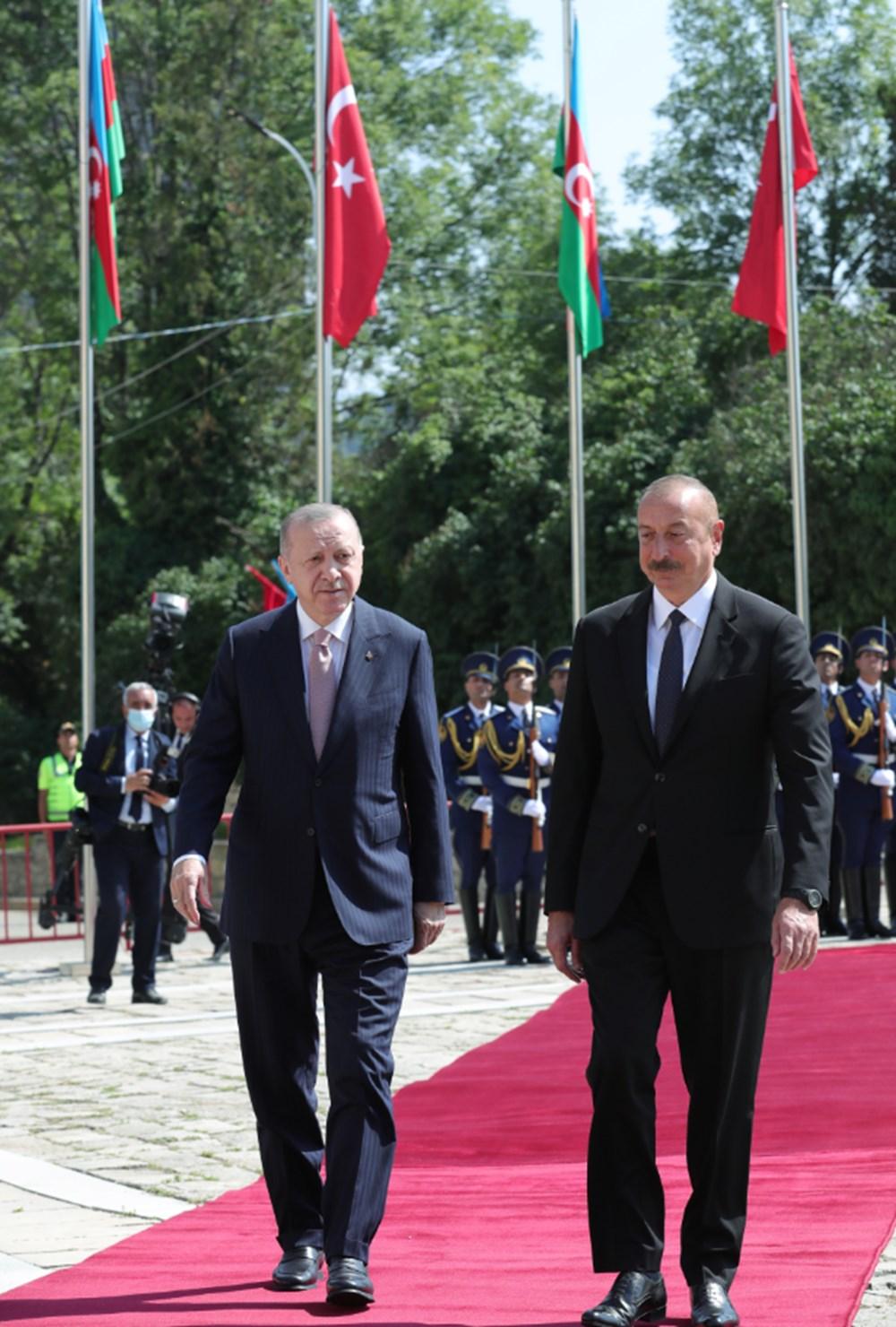 Cumhurbaşkanı Erdoğan ve Aliyev Şuşa Beyannamesi'ni imzaladı - 23