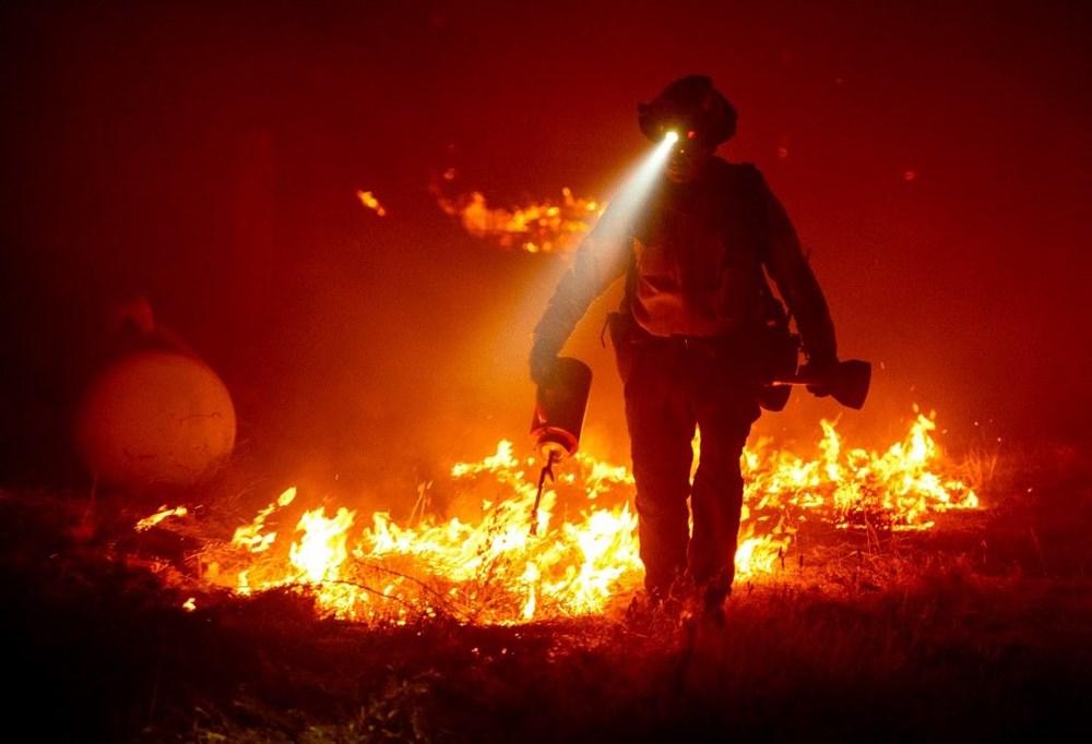 ABD'nin batısındaki orman yangınlarında ölü sayısı 15'e yükseldi - 9