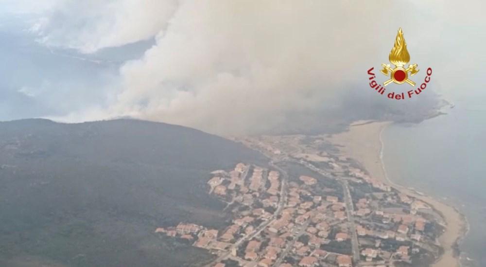 'Benzeri görülmemiş felaket': İtalya Sardunya Adası'nda yangın - 6