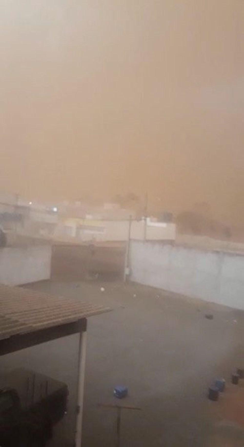 Brezilya'da kıyamet filmini aratmayan kum fırtınası: Binalar ortadan kayboldu - 4