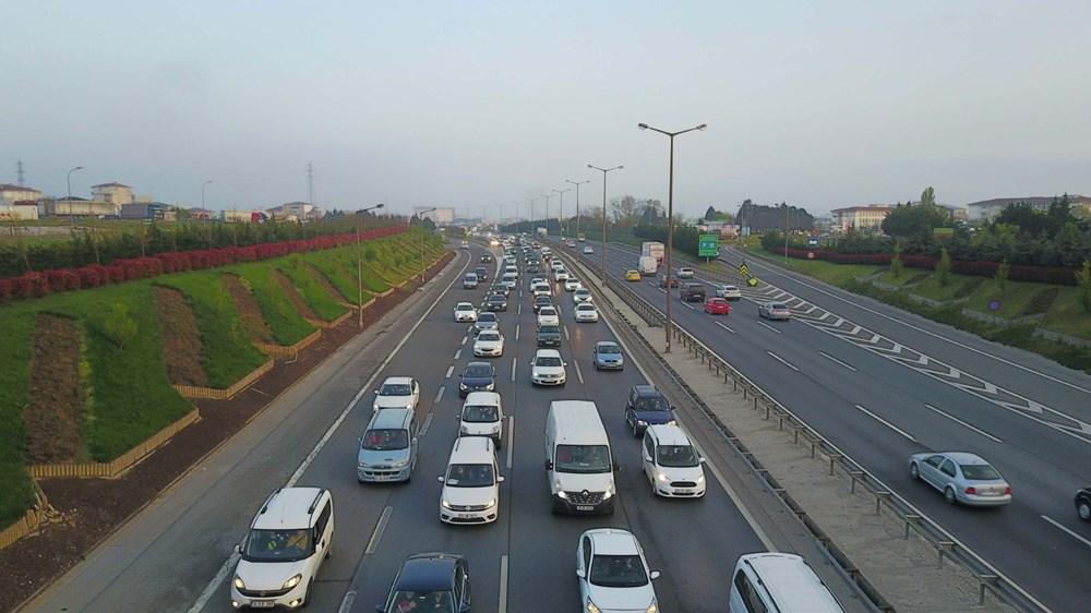 İstanbul'da, 'tam kapanma' öncesinde kaçış trafiği - 12