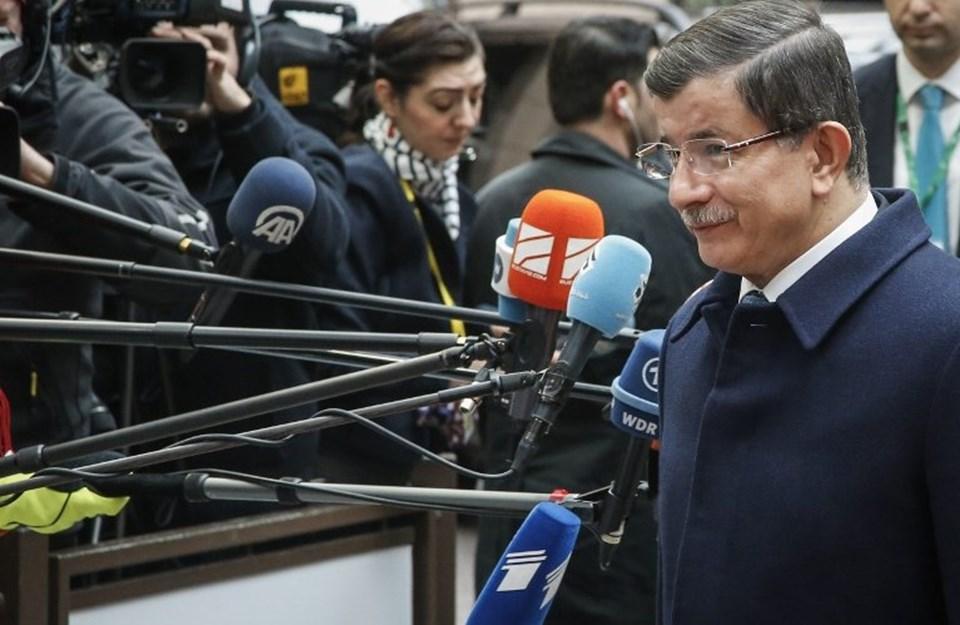 Zirve öncesi konuşan Başbakan Ahmet Davutoğlu, Türkiye'nin üyelik sürecinin de ele alınacağını söyledi.