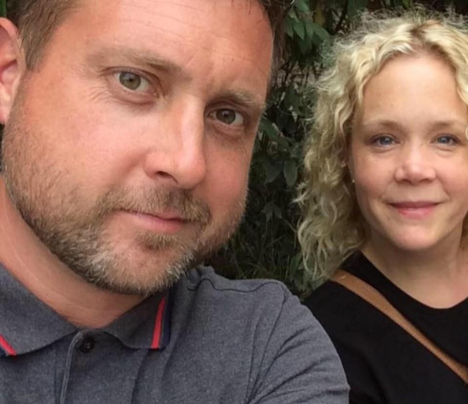 Craig Ruston ve Eşi Sally Ruston