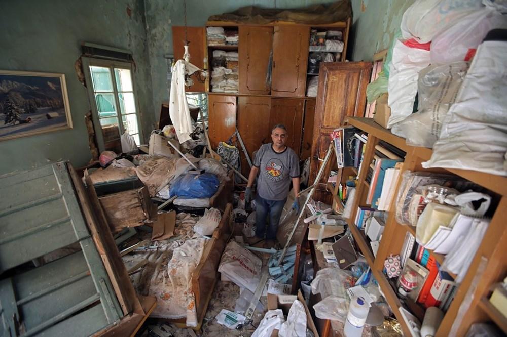 Harabelerin ortasındaki Lübnan halkı: Binlerce kişi evsiz - 7