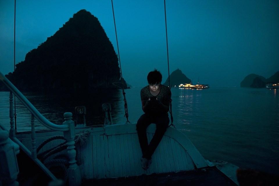 Ahmet Demir, Halong Körfezi, Vietnam -geçen senenin İnsan Kategorisi Birincisi