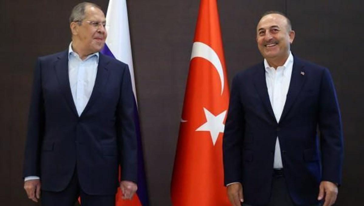 SON DAKİKA:Çavuşoğlu Rus mevkidaşıyla Antalya'da görüştü: Turizmde eski rakamlara dönmeyi hedefliyoruz