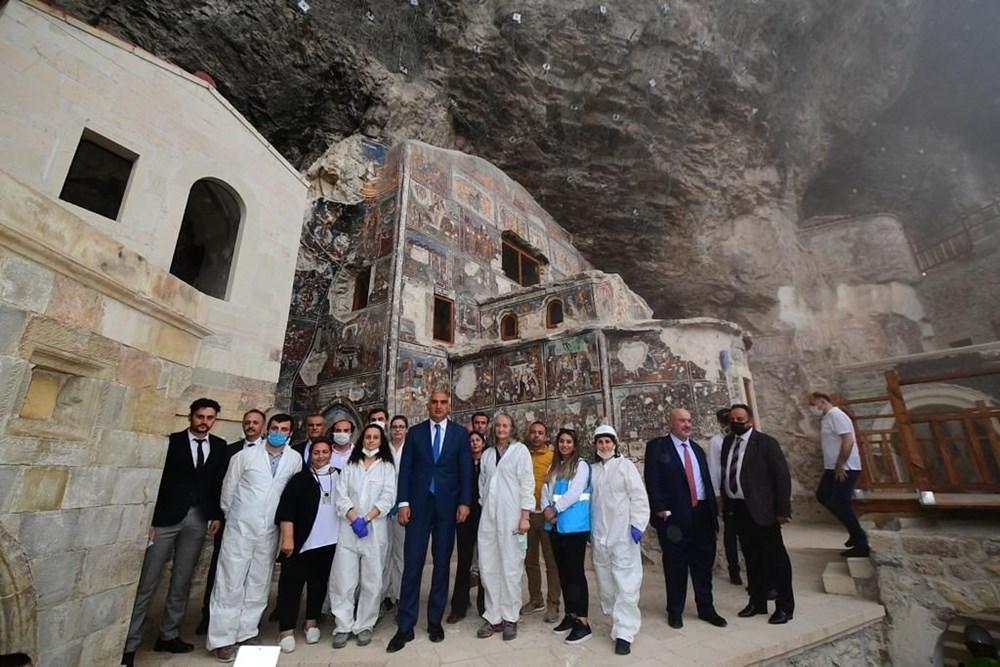 Sümela Manastırı 5 yıl sonra ziyarete açıldı - 3
