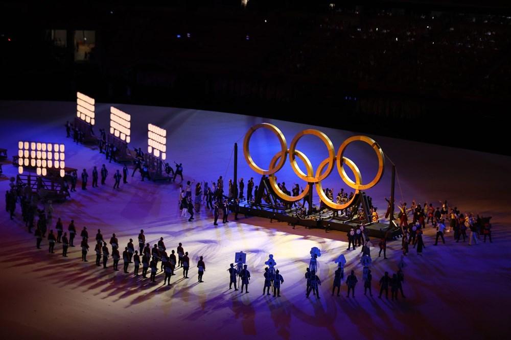 2020 Tokyo Olimpiyatları görkemli açılış töreniyle başladı - 68