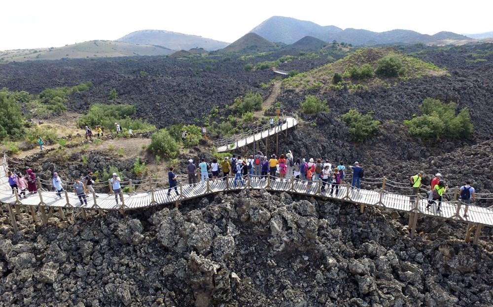 Türkiye'nin jeolojik yapısına ışık tutan Kula Jeoparkı (Manisa gezilecek yerler) - 1