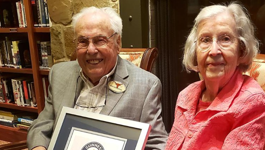 ABD'de yaşayan dünyanın en yaşlı çifti 80'inci evlilik yıl dönümünü kutlayacak