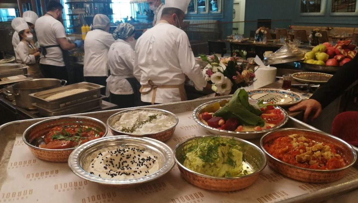 Anadolu'nun binlerce yıllık yemekleri İstanbul Havalimanı'nda