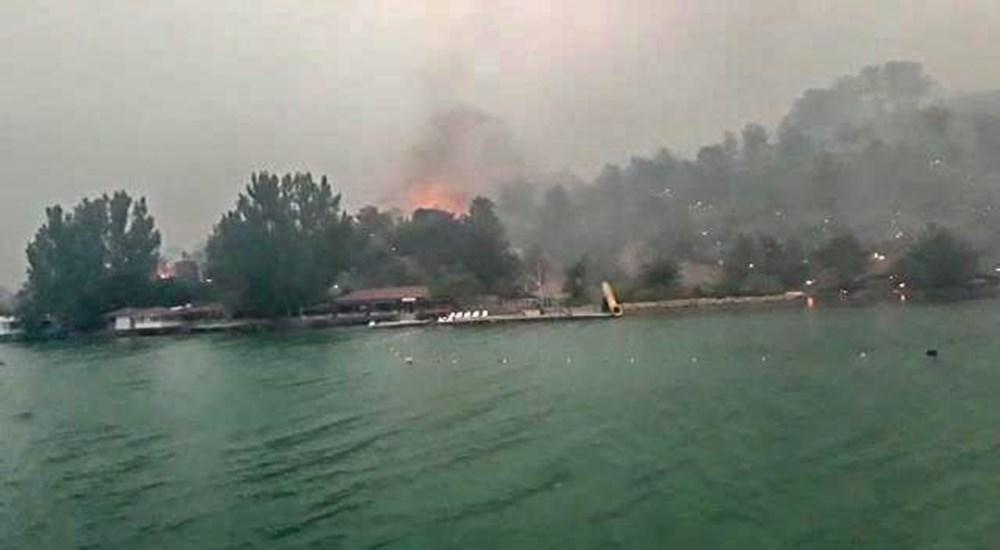 Manavgat Baraj Gölü'nde kurtarılmayı beklediler: Küllü, kömürlü sudan içtik - 5