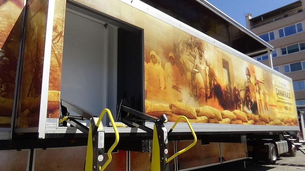 Çanakkale ruhu mobil müze ile Türkiye'ye yolculuğuna başladı - 9