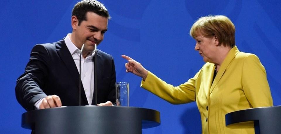 Yunansitan Başkanı Çipras, Merkel'le olan ilişkisinin dürüstlük üzerine kurulu olduğunu söyledi.