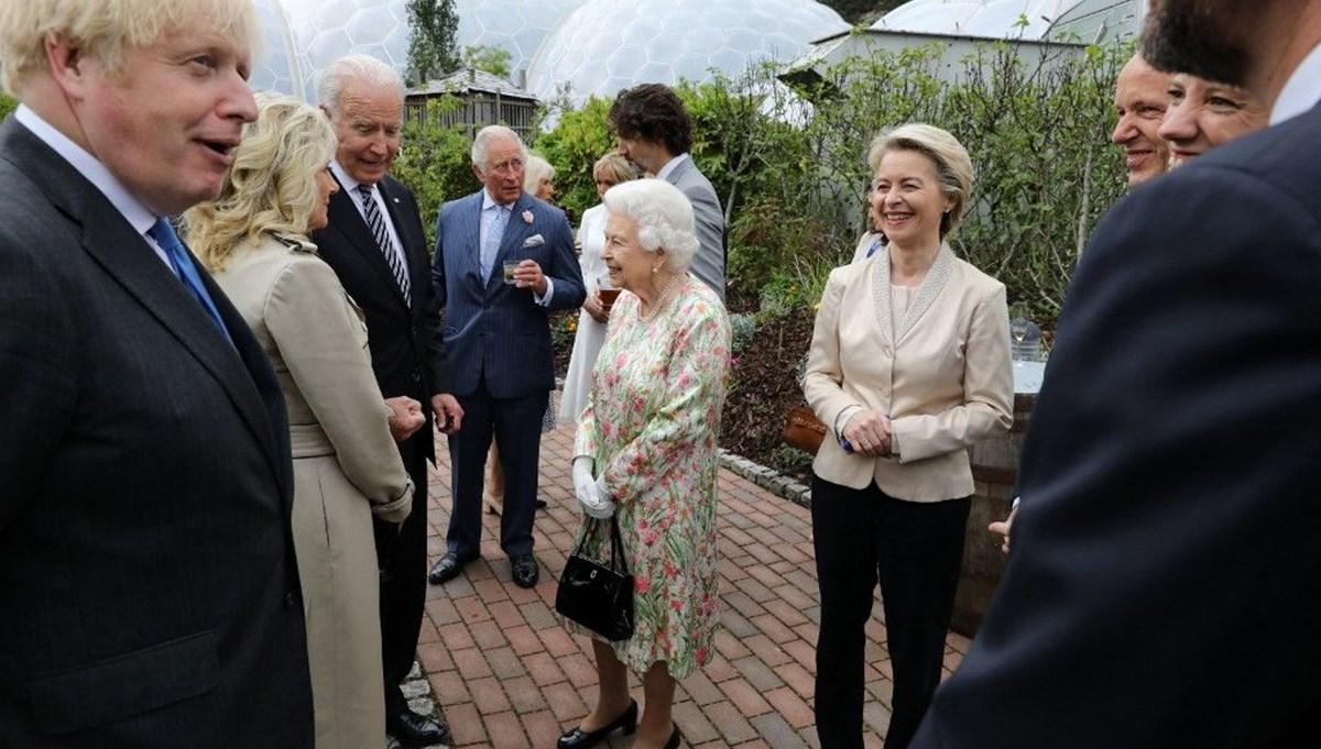 Kraliçe II. Elizabeth liderlerle buluştu