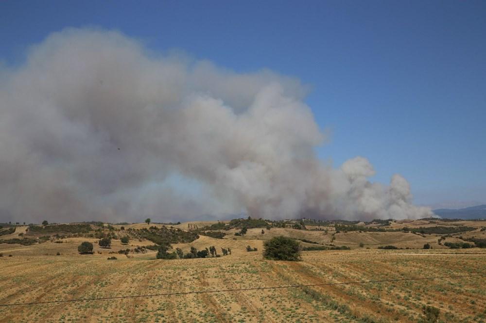 Antalya, Adana, Mersin, Aydın, Muğla, Osmaniye ve Kayseri'de orman yangınları - 14