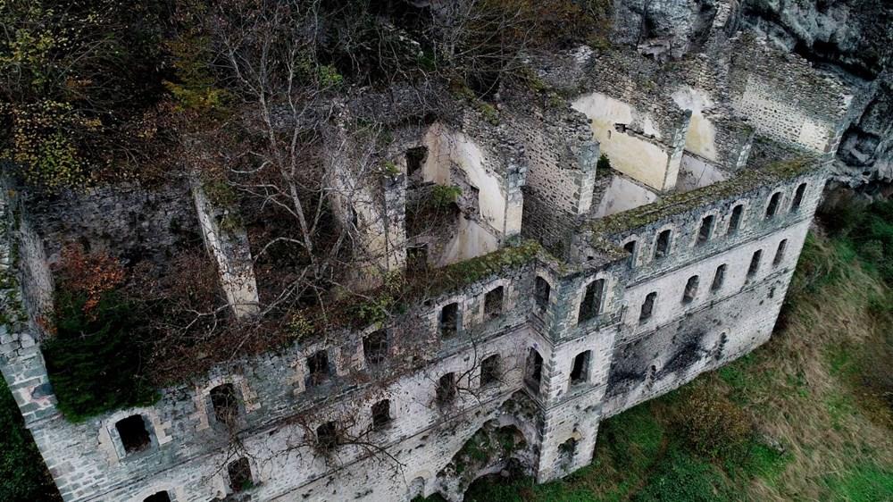 Vazelon Manastırı'nın restorasyonu başka bahara kaldı - 5