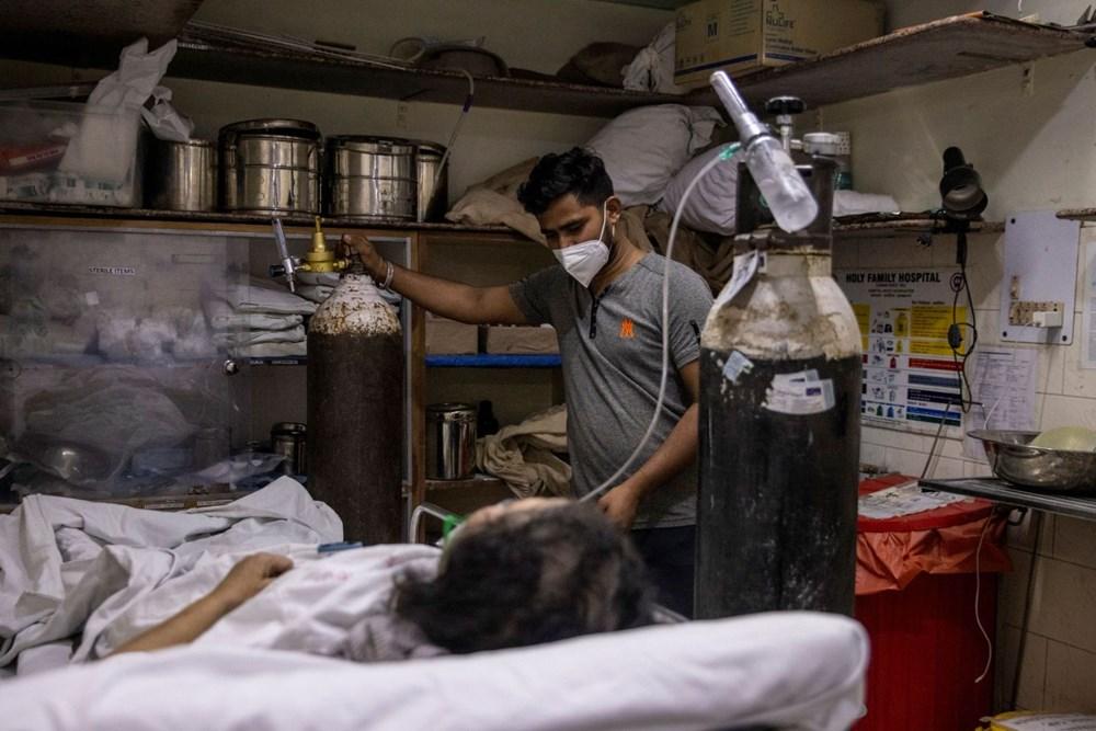 Hindistan'da Covid-19 vakalarının sayısı 20 milyona ulaştı: Halk, cenazelerini karton tabutlarla taşıyor - 9