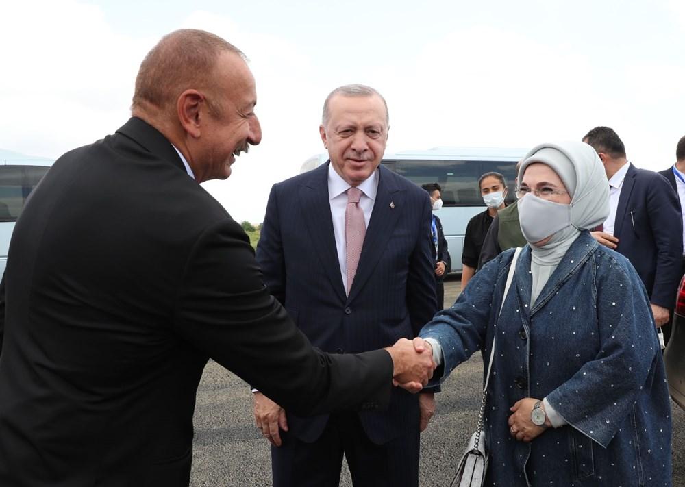 Cumhurbaşkanı Erdoğan, Azerbaycan'da - 5