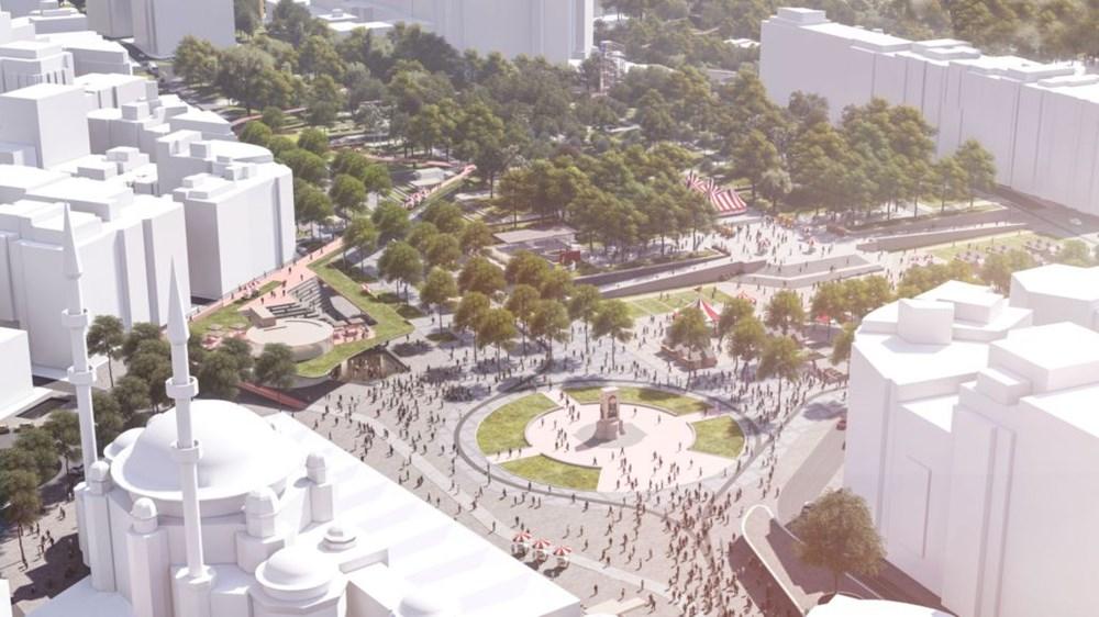 Taksim Meydanı Tasarım Yarışması sonuçlandı (Taksim Meydanı böyle olacak) - 6