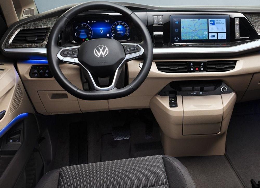 2022 Volkswagen T7 Multivan tanıtıldı - 8