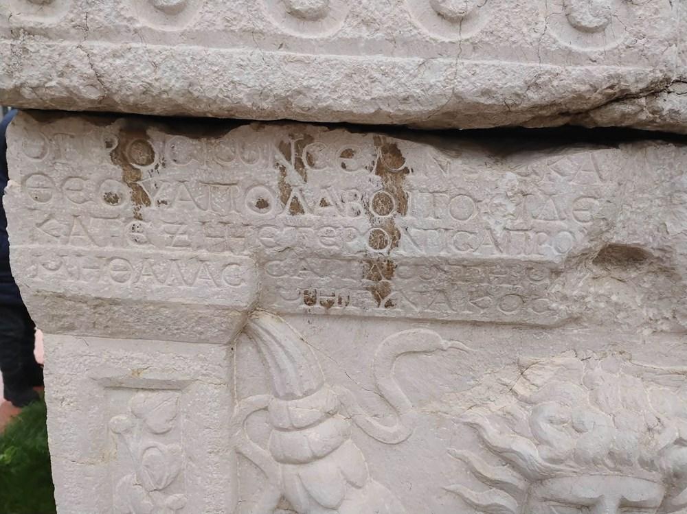 Medusa kabartmalı lahitteki 'beddua'nın sırrı - 3