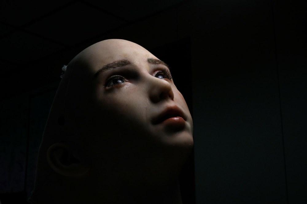 Robot Sophia'ya kardeş geldi: Robot hemşire Grace - 8