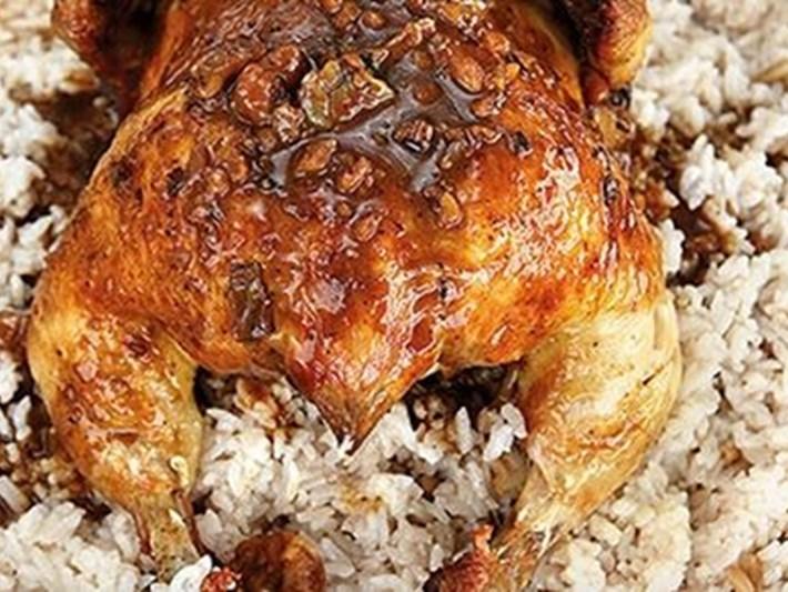 Fırında tavuk ve iç pilav tarifi ve gerekli malzemeler (Simfer'le Bayram Hazırlıkları)