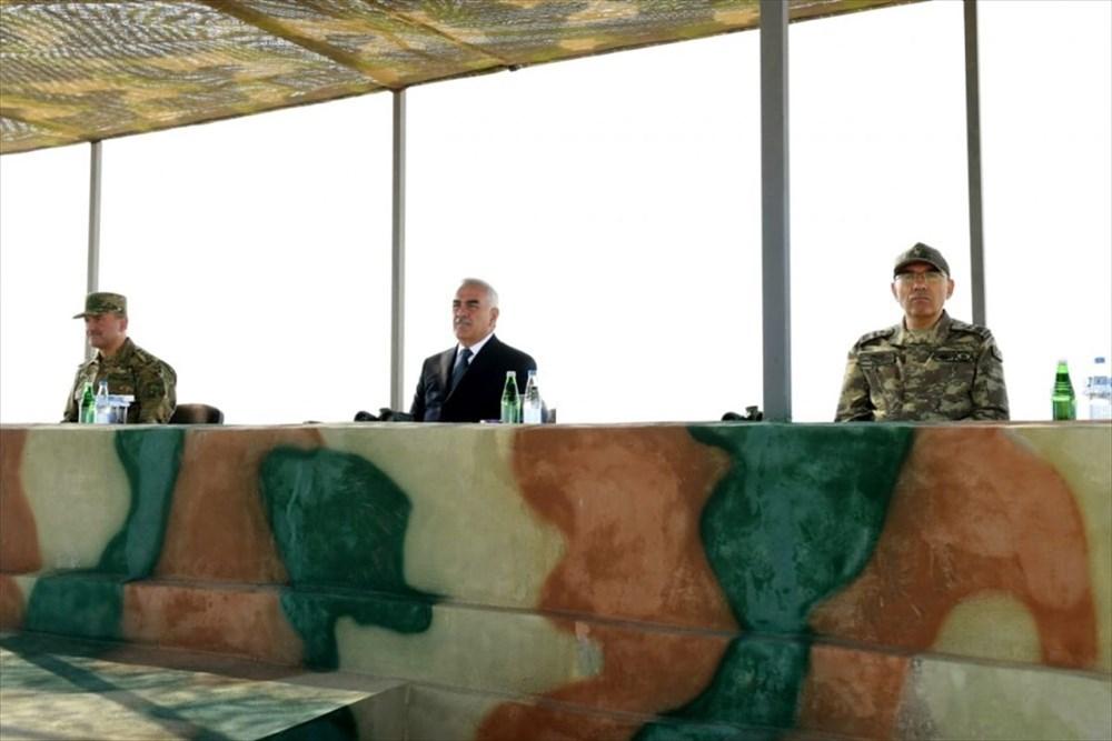 Türkiye ve Azerbaycan'dan savaş sahnelerini aratmayan tatbikat - 4