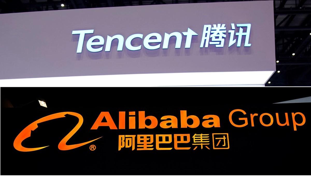 Çin'den Alibaba ve Tencent'e 76 bin 500'er dolar ceza