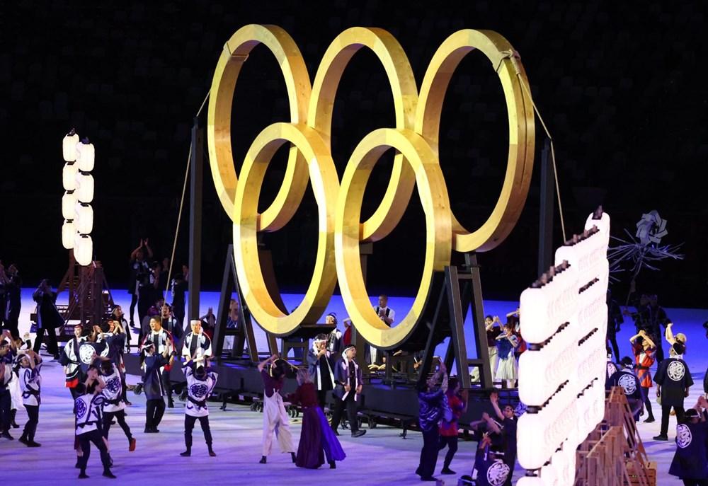 2020 Tokyo Olimpiyatları görkemli açılış töreniyle başladı - 11
