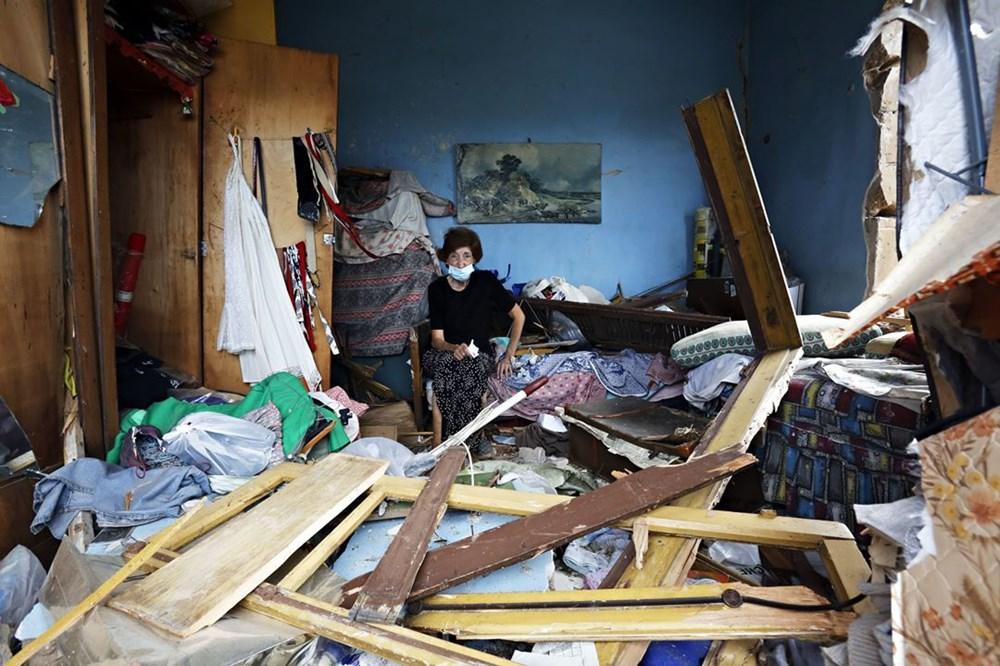 Harabelerin ortasındaki Lübnan halkı: Binlerce kişi evsiz - 4
