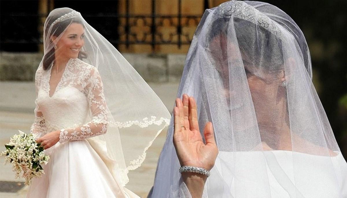 En popüler gelinlik aramaları: Meghan Markle ve Kate Middleton zirvede