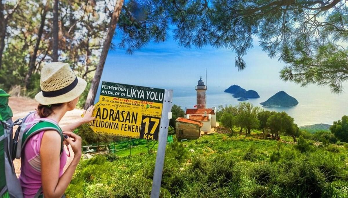 Türkiye'nin en güzel yürüyüş rotalarından birisi: Gelidonya Feneri