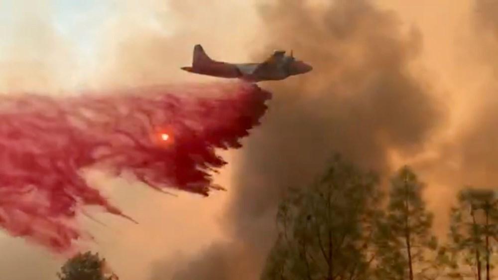 California'da 8 bin kilometrekare alan yandı, rekor kırıldı - 8
