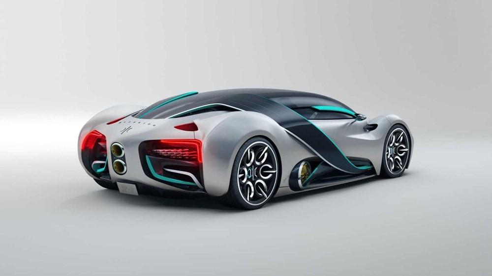Hidrojen yakıtlı süper otomobil: Hyperion XP-1 - 12