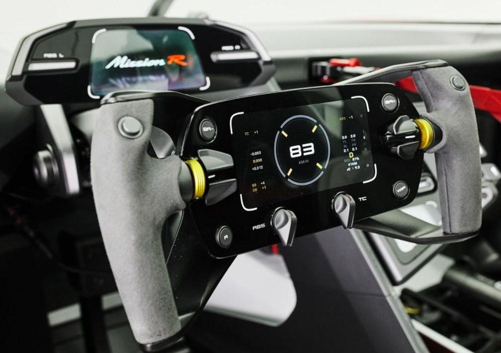 Porsche Mission R Konsepti tanıtıldı: Elektrikten gelen 1.088 beygirlik güç - 11