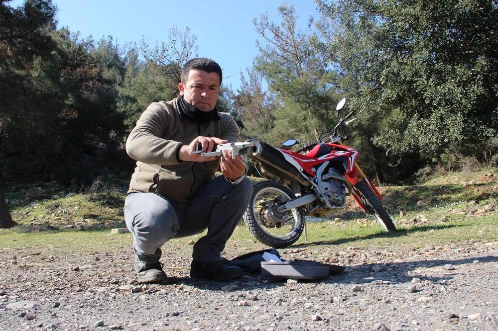 Bodrum'un drone'lu çobanı: Adım adım izliyor - 6