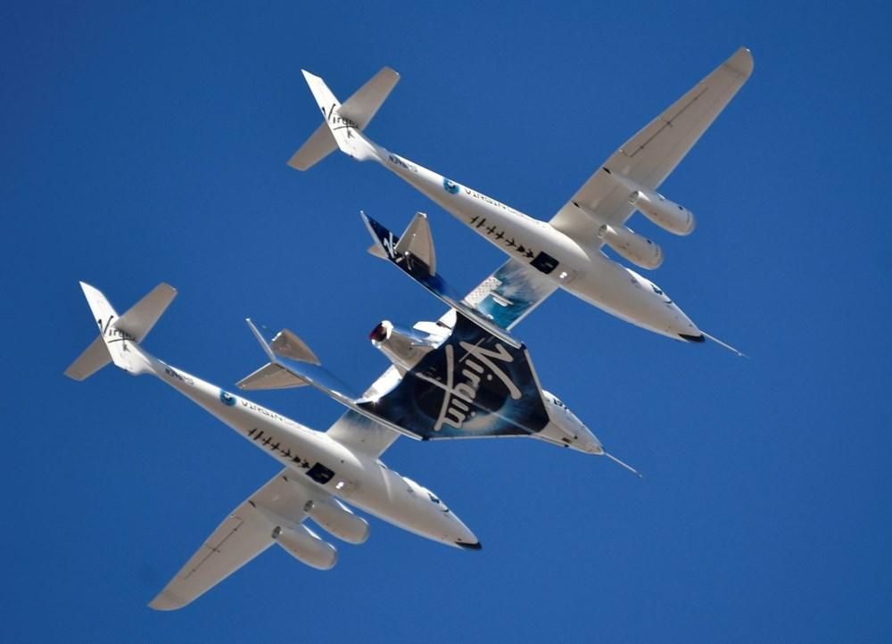 Virgin Galactic ikinci uçuş testini başarıyla tamamladı - 2