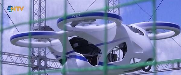 Uçan otomobil testi geçti