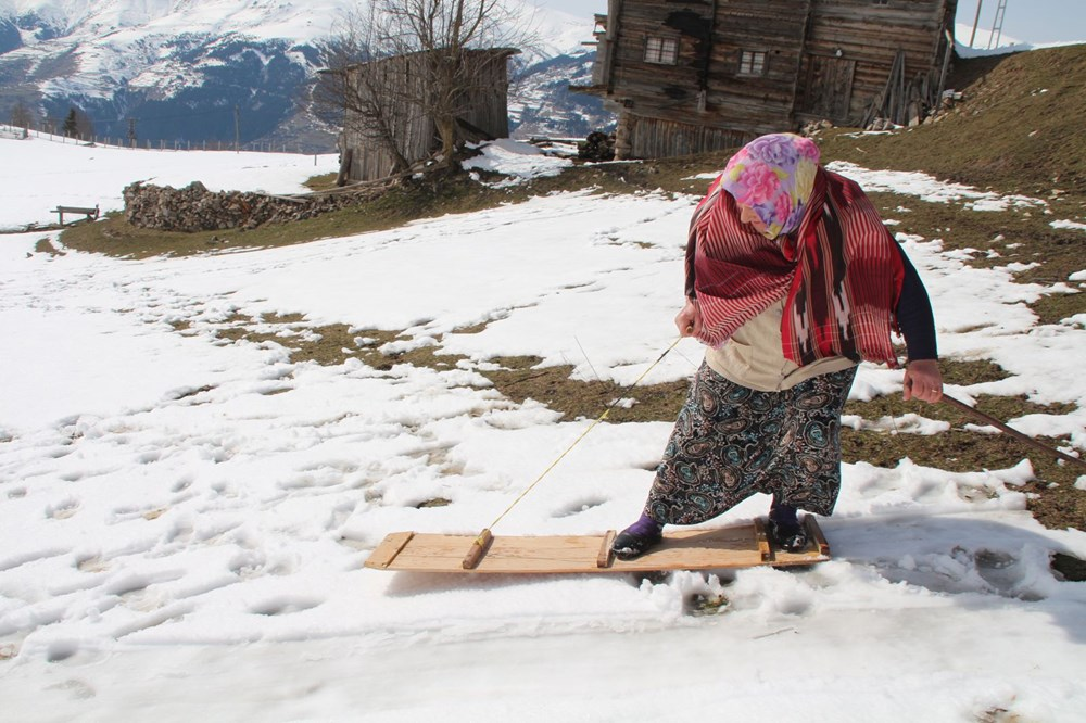 Fun tradition in Rize: Capture Petranboard rushed to the top - 2