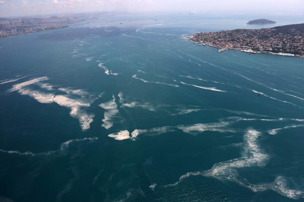 Müsilaj havadan görüntülendi: Deniz salyası her yerde - 14