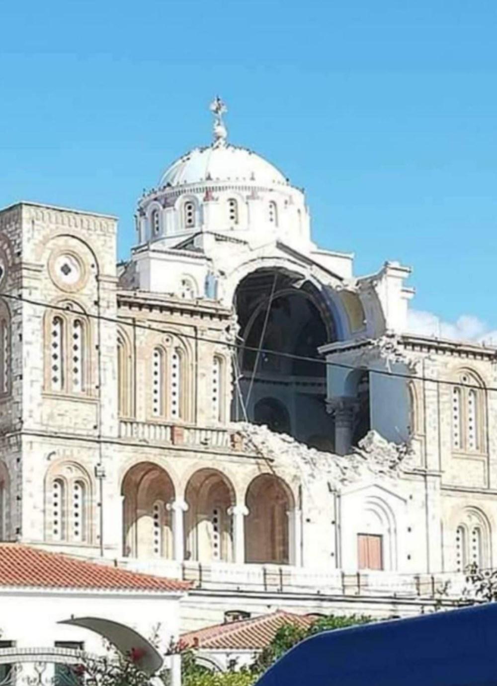Depremin merkez üssü Yunan adası Sisam'dan ilk fotoğraflar - 2