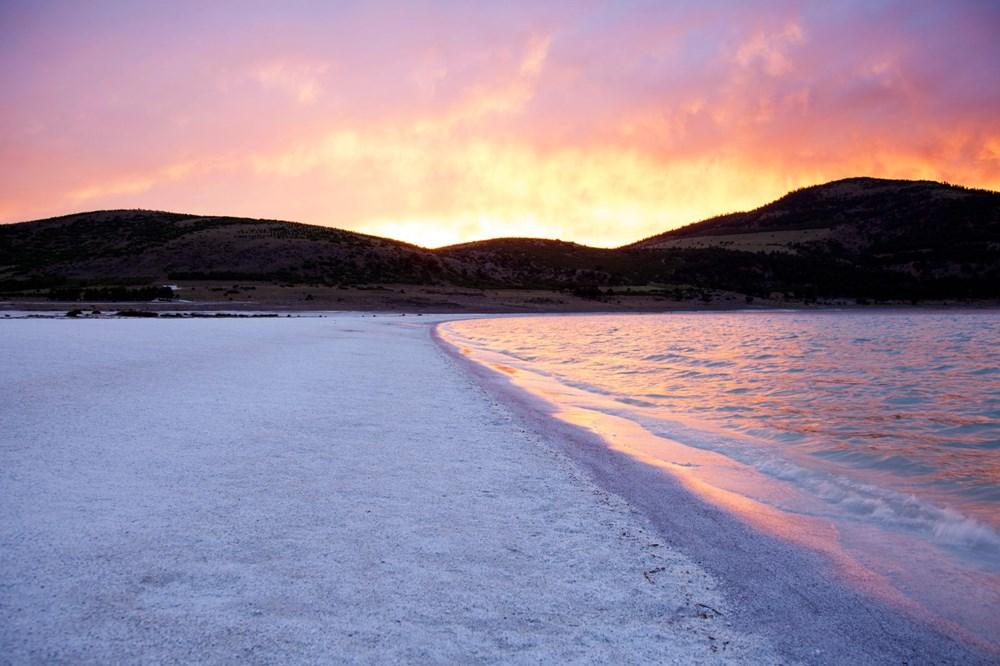 Bakan açıkladı: Salda Gölü'nün 'Beyaz Adalar' bölgesinde göle ve plaja giriş yasaklandı - 14