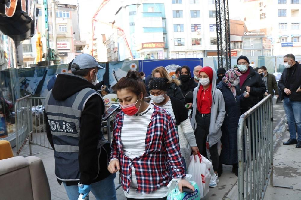 'Kırmızı' alarm veren Samsun'da önlemler de kuyruklar da arttı - 7