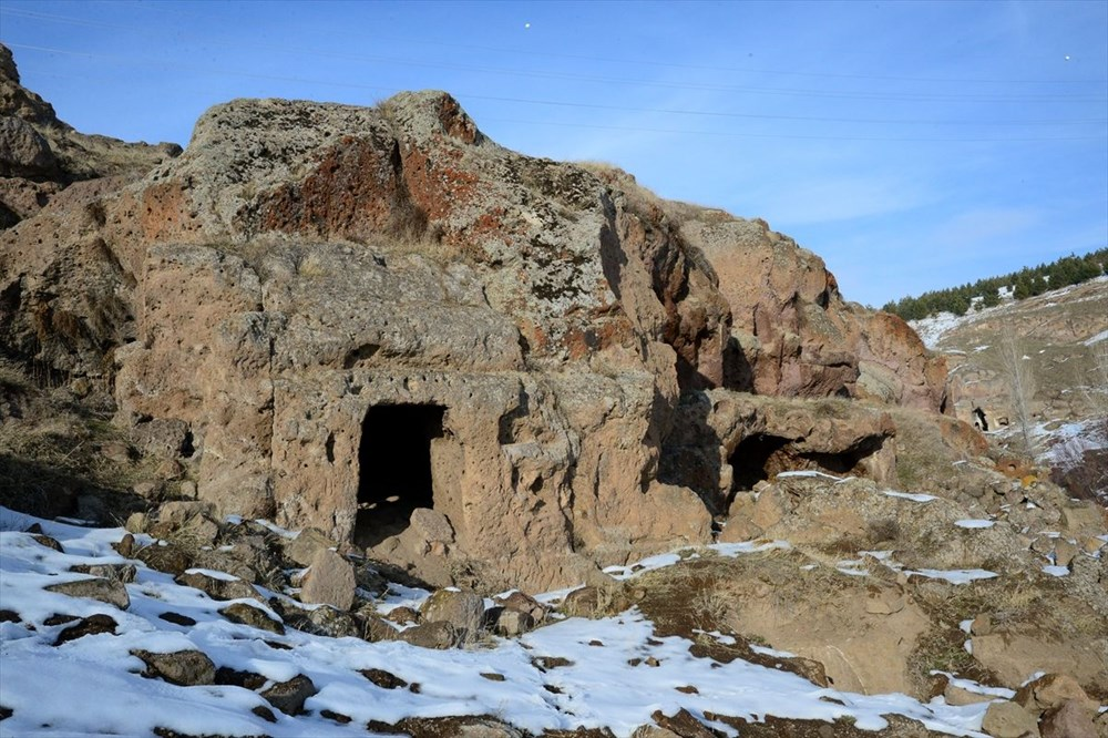 Bitlis'te binlerce yıllık 400 mağara evin bulunduğu 'Madavans Vadisi' turizme kazandırılıyor - 10