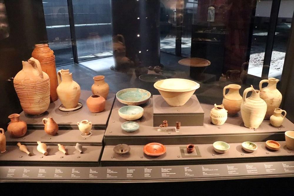 Hatay'da beş dönemin izlerini taşıyan Necmi Asfuroğlu Arkeoloji Müzesi ziyaretçilerini zaman yolculuğuna çıkarıyor - 28